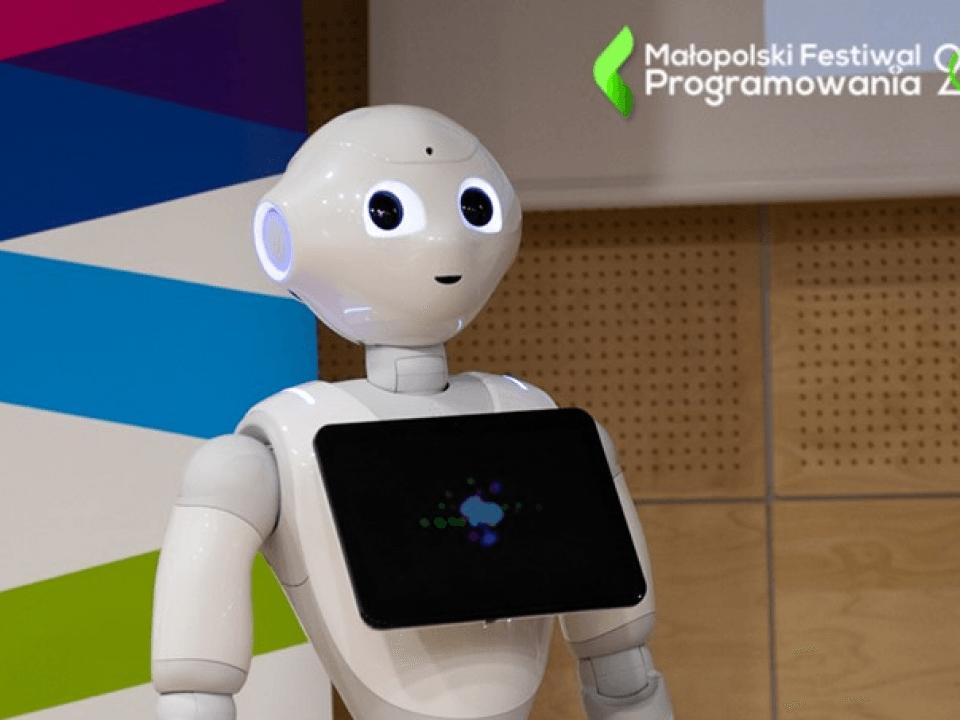 małopolski festiwal programowania  Will robots and artificial intelligence replace us? WSEI at the conference. malopolski festiwal programowania 960x720
