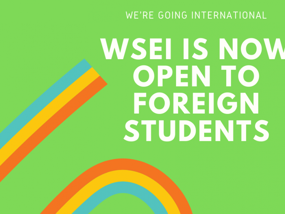 WSEI is now open to foreign students! Pop up Store Announcement Facebook Post e1576145827504 960x720