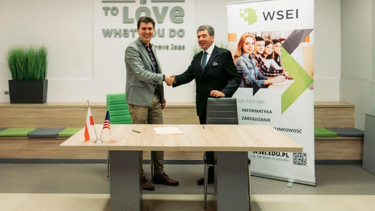 MoU between WSEI and Capitol Technology University  Memorandum of Understanding signed by the College of Economics and Computer Science and the Capitol Technology University 2 1200x675